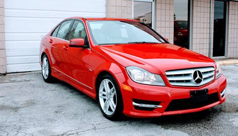 2012 Mercedes-Benz C-Class for sale at CTN MOTORS in Houston TX