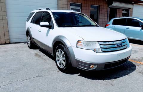 2008 Ford Taurus X for sale at CTN MOTORS in Houston TX