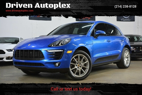 2017 Porsche Macan for sale in Dallas, TX