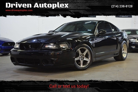 2003 Ford Mustang SVT Cobra for sale in Dallas, TX