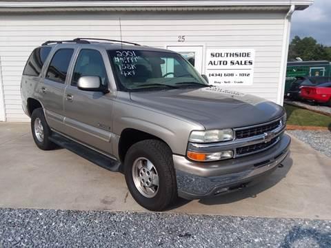 2001 Chevrolet Tahoe for sale in Evington, VA