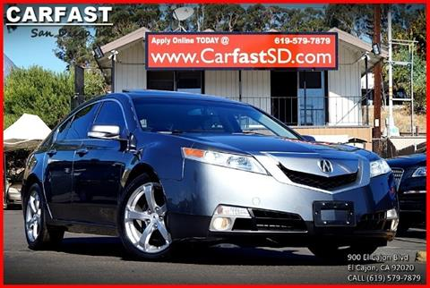 2009 Acura TL for sale in El Cajon, CA