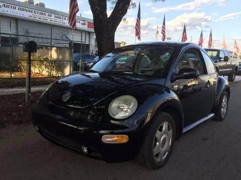 2001 Volkswagen New Beetle for sale in Hollywood, FL