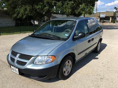 2002 Dodge Caravan for sale in Denton TX
