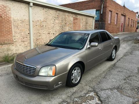 2004 Cadillac DeVille for sale in Denton TX