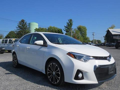 2014 Toyota Corolla for sale in Hudson, NY