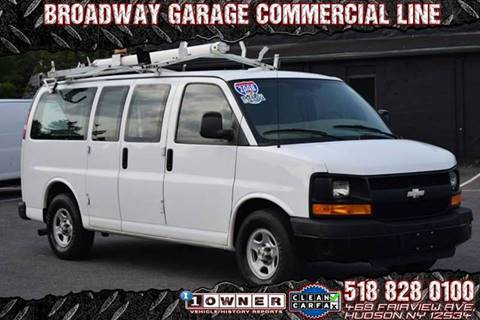 2008 Chevrolet Express Cargo for sale at Broadway Garage of Columbia County Inc. in Hudson NY