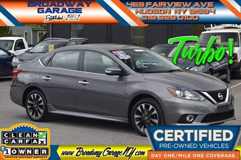 2017 Nissan Sentra for sale in Hudson, NY