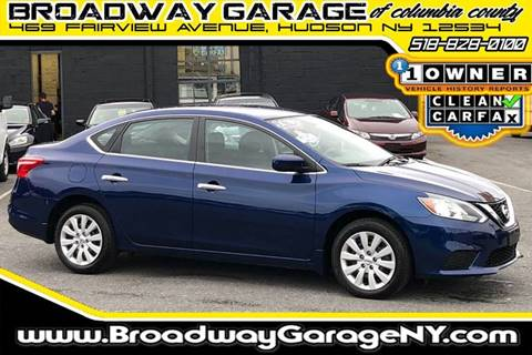 2016 Nissan Sentra for sale in Hudson, NY