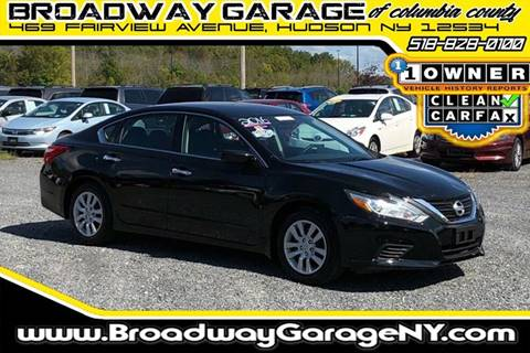 2016 Nissan Altima for sale in Hudson, NY