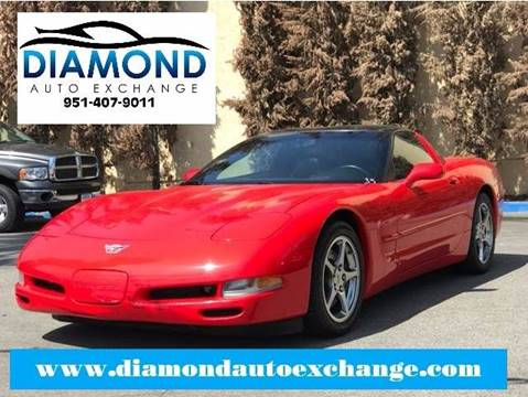 2003 Chevrolet Corvette for sale in Corona, CA