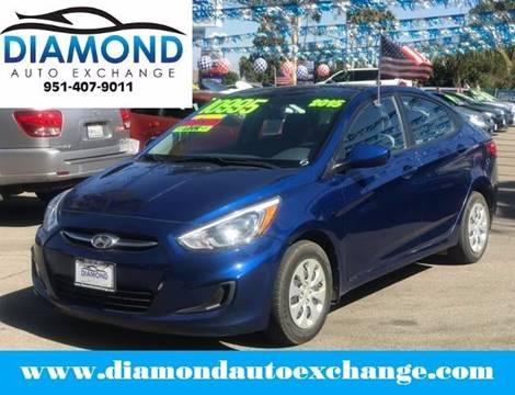 2015 Hyundai Accent for sale in Corona, CA