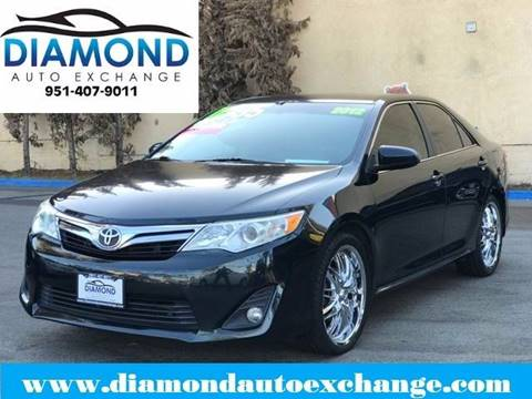 2012 Toyota Camry for sale in Corona, CA