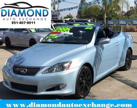 2010 Lexus IS 250C for sale in Corona, CA