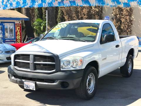 2008 Dodge Ram Pickup 1500 for sale in Corona, CA