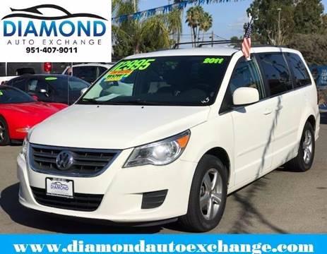 2011 Volkswagen Routan for sale in Corona, CA
