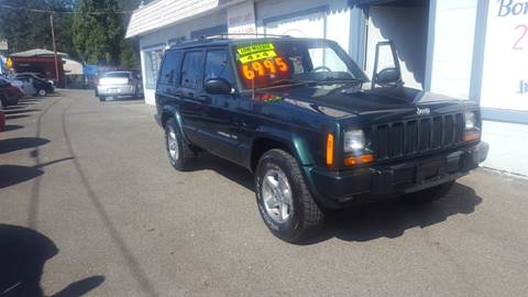 1999 Jeep Cherokee for sale at Bonney Lake Used Cars in Puyallup WA
