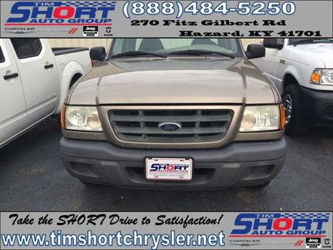 2003 Ford Ranger for sale in Mallie, KY
