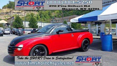 2003 Chevrolet SSR for sale in Mallie, KY