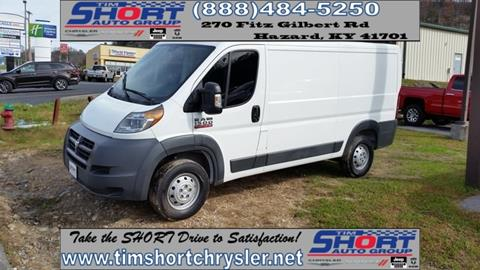2015 RAM ProMaster Cargo for sale in Mallie, KY