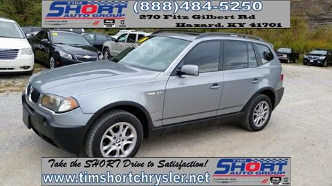 2004 BMW X3 for sale in Mallie, KY