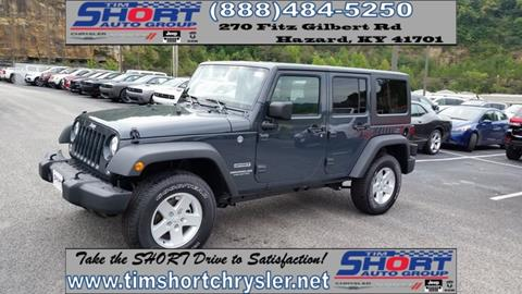 2017 Jeep Wrangler Unlimited for sale in Mallie, KY
