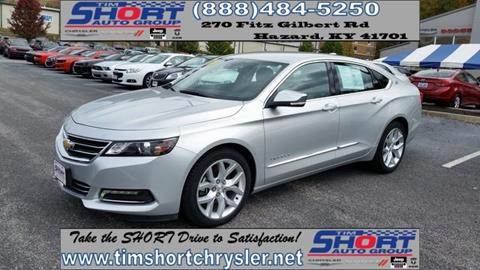 2017 Chevrolet Impala for sale in Mallie, KY