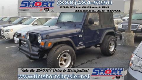2006 Jeep Wrangler for sale in Mallie, KY