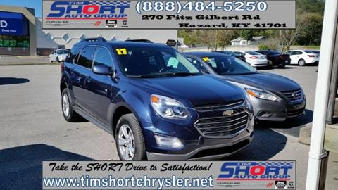 2017 Chevrolet Equinox for sale in Mallie, KY