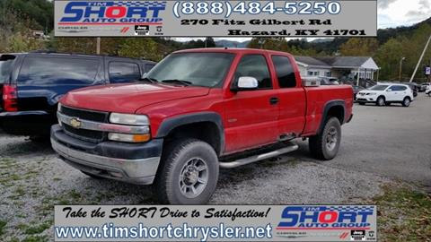 2002 Chevrolet Silverado 2500HD for sale in Mallie, KY