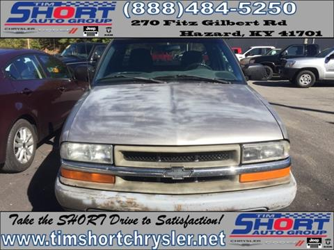 2001 Chevrolet S-10 for sale in Mallie, KY
