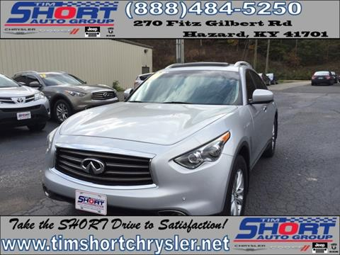 2013 Infiniti FX37 for sale in Mallie, KY