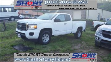 2016 GMC Canyon for sale in Mallie, KY