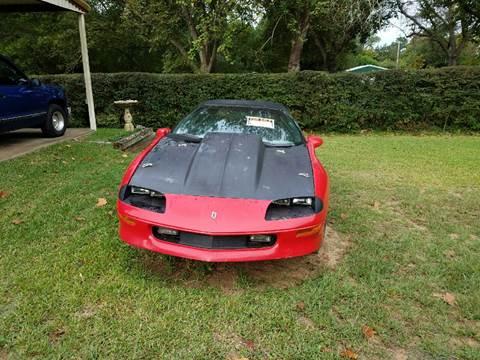 1996 Chevrolet Camaro for sale in Overton, TX