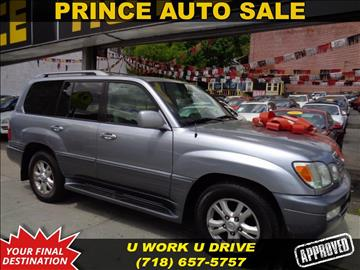 2005 Lexus LX 470 for sale in Jamaica, NY