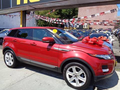 2012 Land Rover Range Rover Evoque for sale in Jamaica, NY