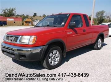 2000 Nissan Frontier for sale in Galena, KS