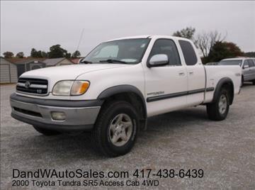 2000 Toyota Tundra for sale in Galena, KS