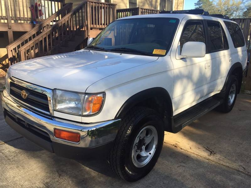 1997 toyota 4runner sr5 4dr suv in marietta ga carplus
