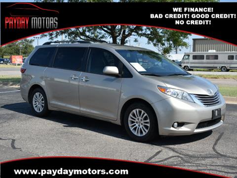 2015 Toyota Sienna for sale at Payday Motors dba Autostart in Topeka KS