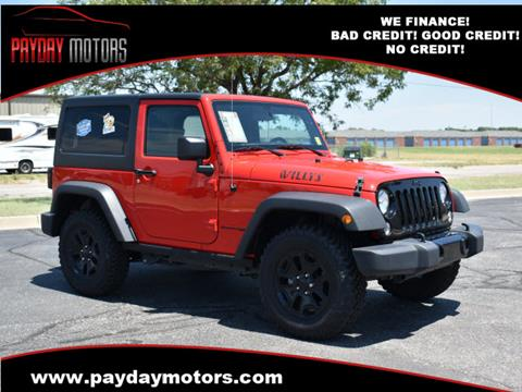Wrangler For Sale >> Jeep Wrangler For Sale In Wichita And Topeka Ks Payday Motors