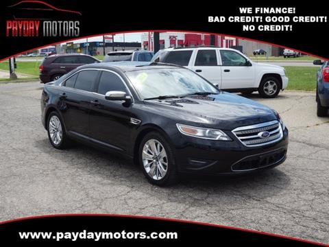 2012 Ford Taurus for sale at Payday Motors in Wichita And Topeka KS