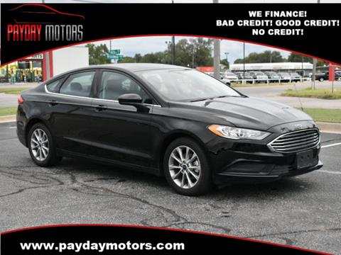 2017 Ford Fusion for sale at Payday Motors in Wichita And Topeka KS