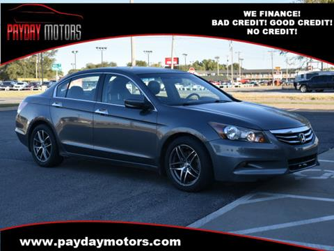 2012 Honda Accord for sale at Payday Motors in Wichita And Topeka KS