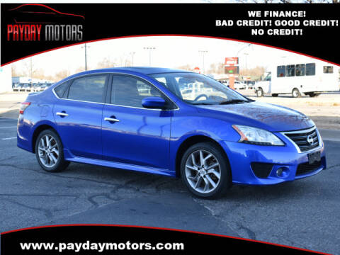 2014 Nissan Sentra for sale at Payday Motors in Wichita And Topeka KS