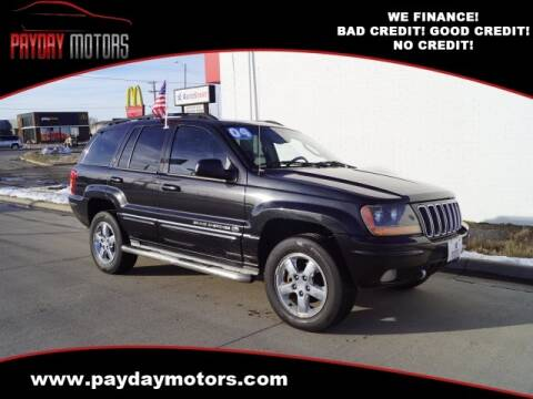 2004 Jeep Grand Cherokee for sale at Payday Motors in Wichita And Topeka KS