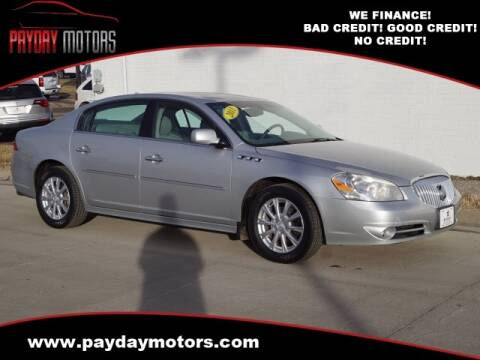 2011 Buick Lucerne for sale at Payday Motors in Wichita And Topeka KS