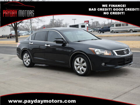 2008 Honda Accord for sale at Payday Motors in Wichita And Topeka KS