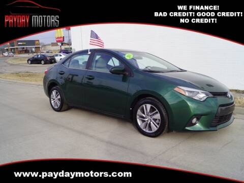 2016 Toyota Corolla for sale at Payday Motors in Wichita And Topeka KS