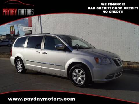 2012 Chrysler Town and Country for sale at Payday Motors in Wichita And Topeka KS
